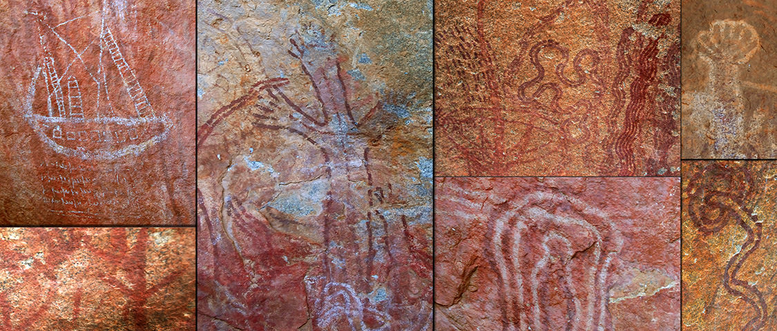 Aboriginal Art – Walga Rock